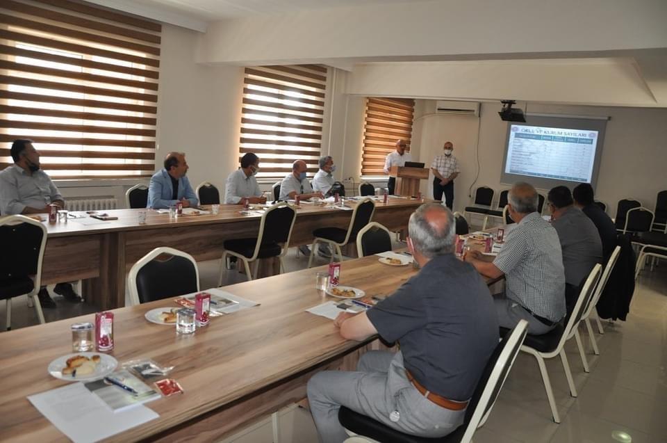 İlçe Milli Eğitim Müdürleri toplantısı Bozüyük'te yapıldı