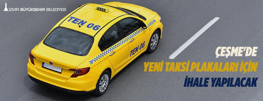 Taksi plakaları için ihale yapılacak