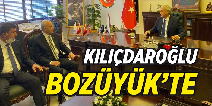 Kılıçdaroğlu, Bozüyük Belediyesi'nde