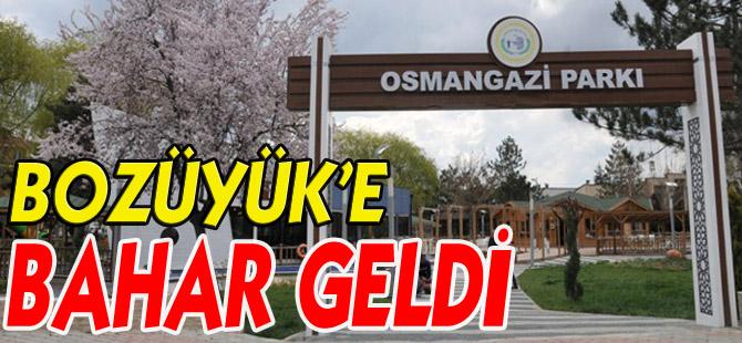 BOZÜYÜK'E BAHAR GELDİ