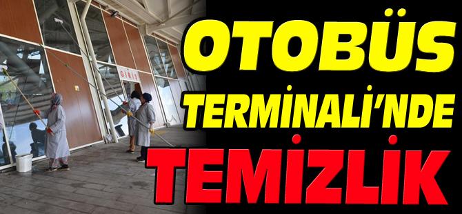 OTOBÜS TERMİNALİ'NDE TEMİZLİK