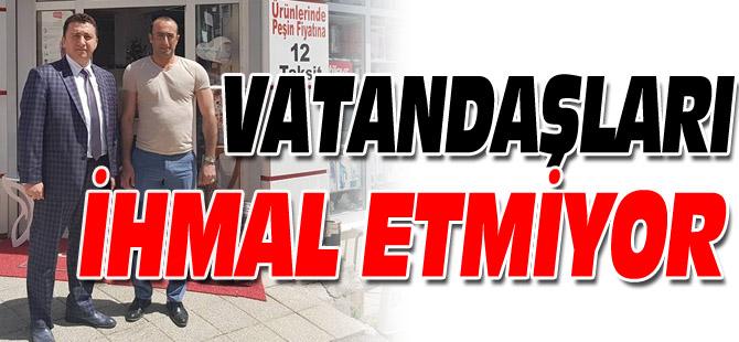 VATNDAŞLARI İHMAL ETMİYOR