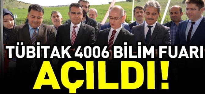 TÜBİTAK 4006 BİLİM FUARI AÇILDI