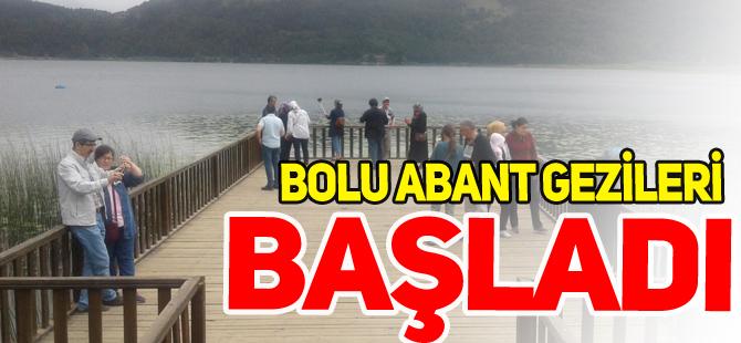 BOLU ABANT GEZİLERİ BAŞLADI