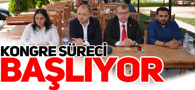KONGRE SÜRECİ BAŞLIYOR