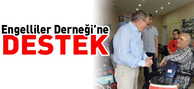 ENGELLİLER DERNEĞİ'NE DESTEK