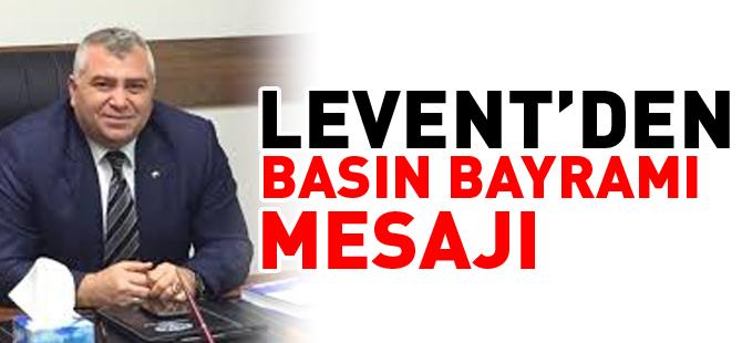 TSO BAŞKANI LEVENT'DEN BASIN BAYRAMI MESAJI