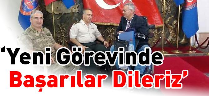 """""""YENİ GÖREVİNDE BAŞARILAR DİLERİZ"""""""