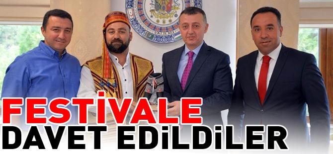 FESTİVALE DAVET EDİLDİLER