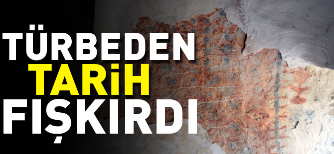 TÜRBE TADİLATINDA TARİH FIŞKIRDI!