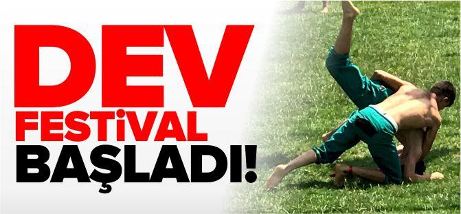 DEV FESTİVAL BAŞLADI!