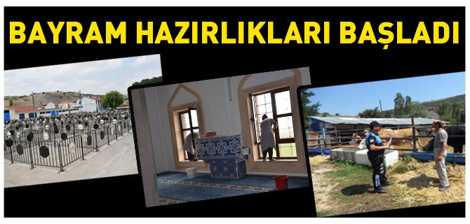 BAYRAM HAZIRLIKLARI BAŞLADI