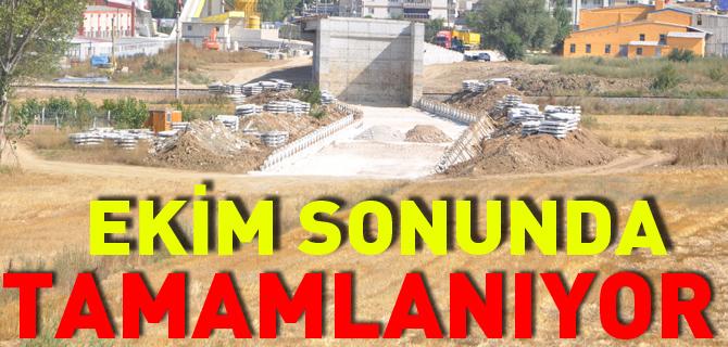 EKİM SONUNDA TAMAMLANIYOR