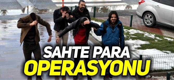 BOZÜYÜK'TE SAHTE PARA OPERASYONU