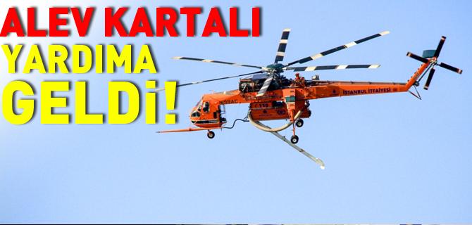 ALEV KARTALI YARDIMA GELDİ