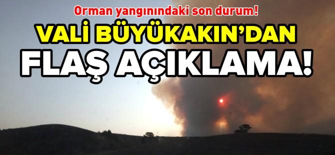 VALİ BÜYÜKAKIN'DAN FLAŞ AÇIKLAMA!