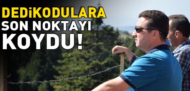 DEDİKODULARA SON NOKTAYI KOYDU!