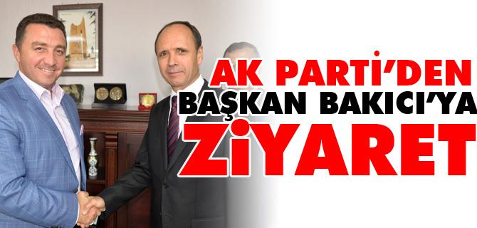 AK PARTİ'DEN BAŞKAN BAKICI'YA ZİYARET