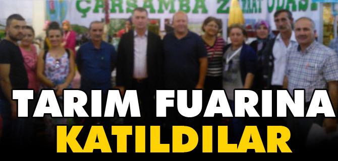 TARIM FUARINA KATILDILAR