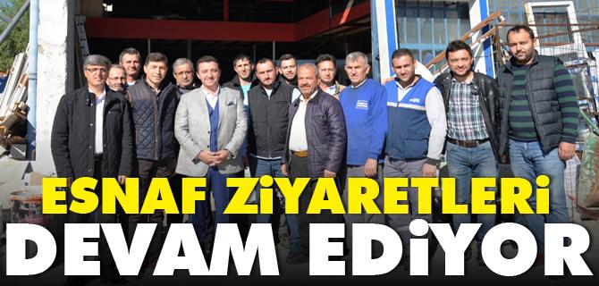 ESNAF ZİYARETLERİ DEVAM EDİYOR