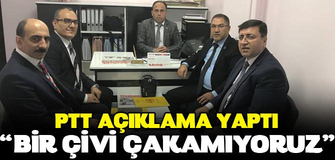 """""""BİR ÇİVİ ÇAKAMIYORUZ"""""""
