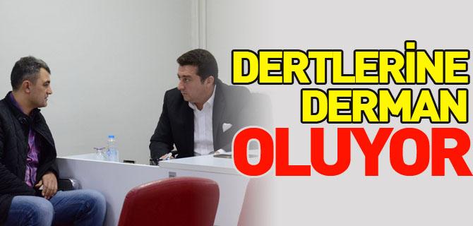 DERLERİNE DERMAN OLUYOR