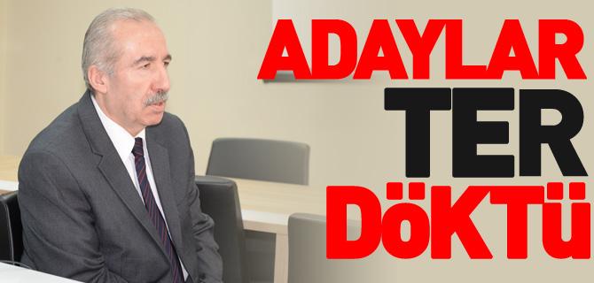 ADAYLAR TER DÖKTÜ