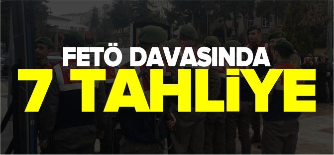 FETÖ DAVASINDA 7 TAHLİYE