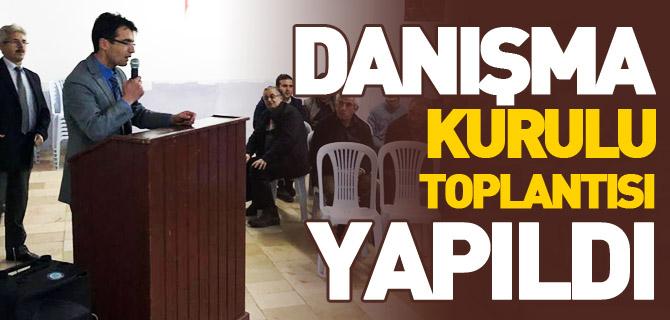 DANIŞMA KURULU TOPLANTISI YAPILDI