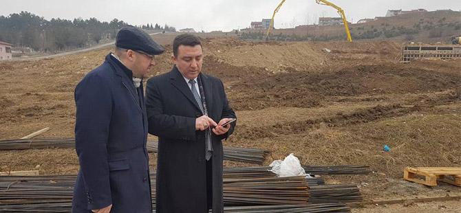 YENİDOĞAN MAHALLESİ'NDEKİ DEV PARK PROJESİ START ALDI