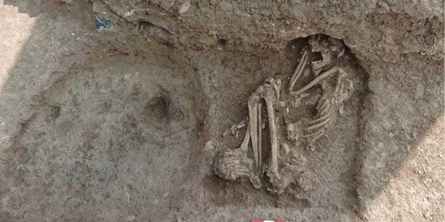 8500 yıllık iskelet Bilecik'te bulundu!
