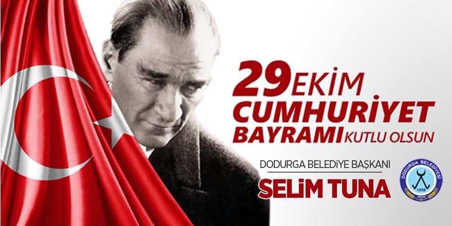 Dodurga Belediyesi  29 Ekim Cumhuriyet Bayramı Kutlama İlanı
