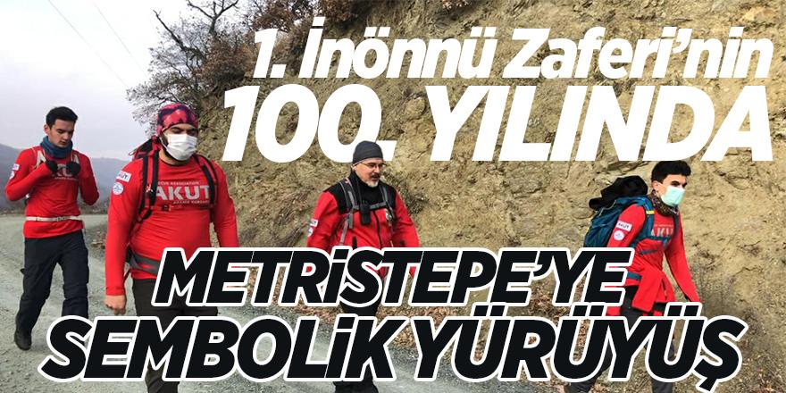 1. İnönü Zaferi'nin 100'üncü yılında Metristepe sembolik yürüyüş
