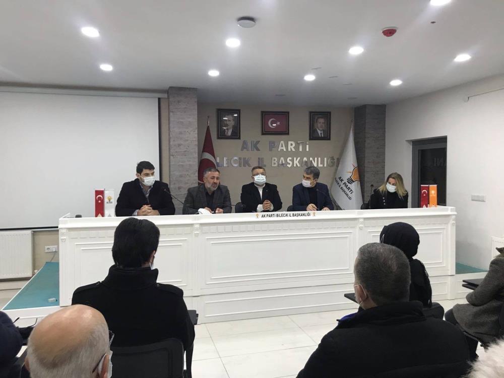 AK Parti Bilecik İl Başkanı Yıldırım ilk gününde birleştirici oldu